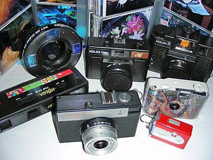 トイカメラ集合