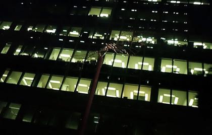 ビルの明かり