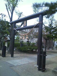中の島神社鳥居