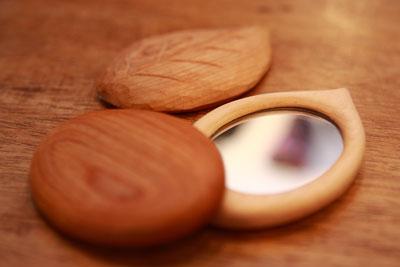 村岡さん手鏡