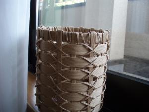筒かご 掛け編み2