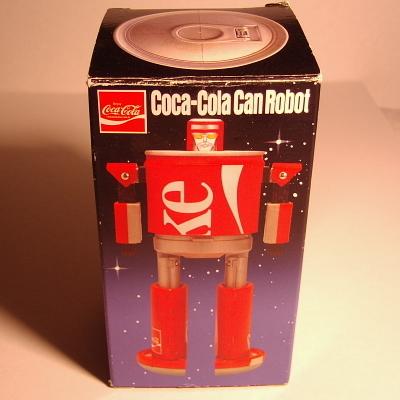 コカコーラカンロボット箱