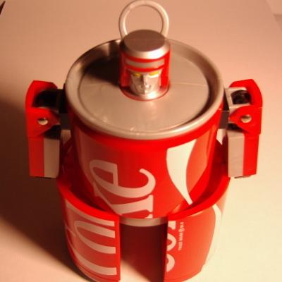コカコーラカンロボット4