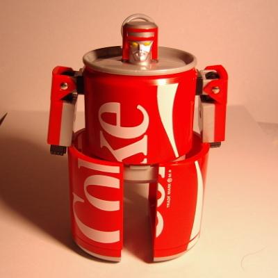 コカコーラカンロボット5