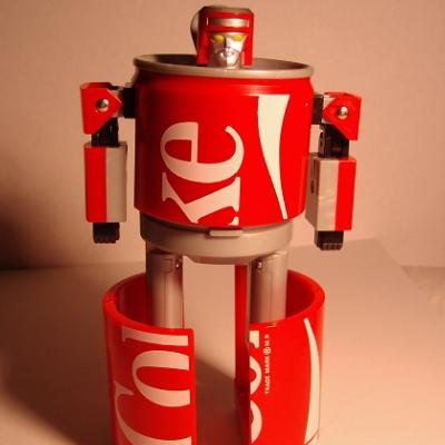 コカコーラカンロボット6