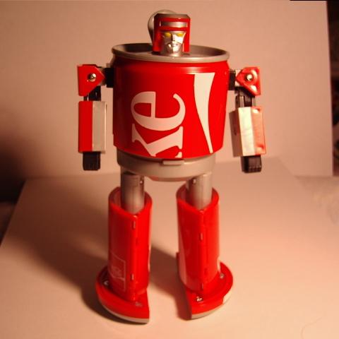 コカコーラカンロボット7