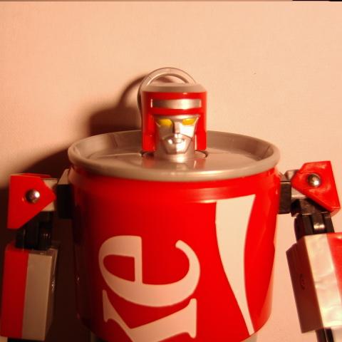 コカコーラカンロボット8