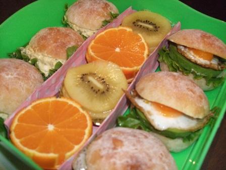 行楽弁当サンドウィッチ
