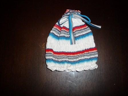 ハンテンリメイク帽子