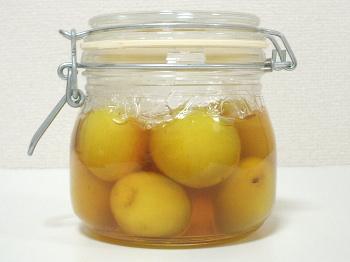 梅の蜂蜜漬け 0日(仕込み)