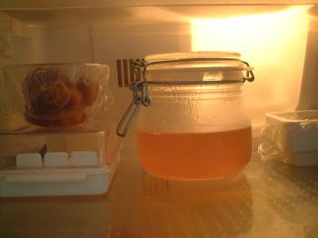 粗熱がとれたら冷蔵庫へ