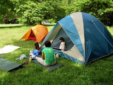 徳沢キャンプ 021