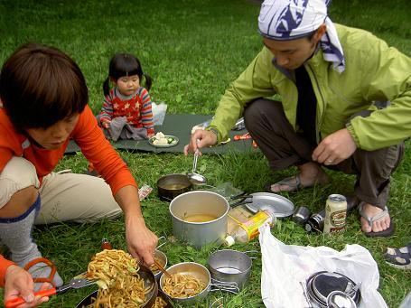 徳沢キャンプ 031
