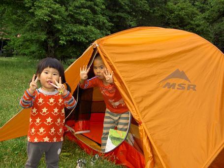 徳沢キャンプ 040