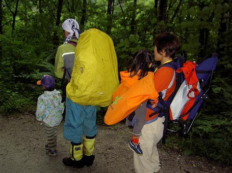 徳沢キャンプ 060
