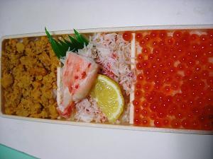 札幌北の味彩『海鮮弁当』¥1575