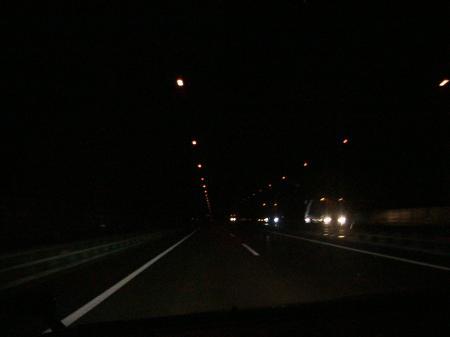 夜中の瀬戸大橋