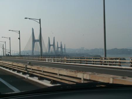 昼の瀬戸大橋
