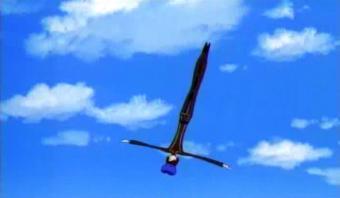 ルルーシュ飛ぶ