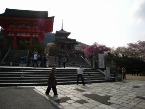清水寺、春・花見1