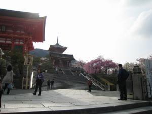 清水寺、春・花見2