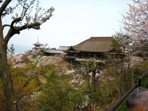 清水寺、春・花見5