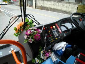 花のバス、木原車2
