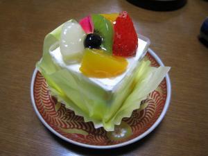 ユーハイムのケーキ