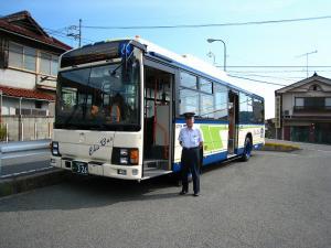 中国バス、花バス、木原さん