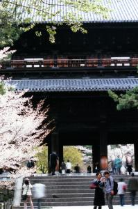 札彩作品「春2008」南禅寺山門