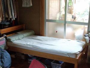 よく働いたベッド