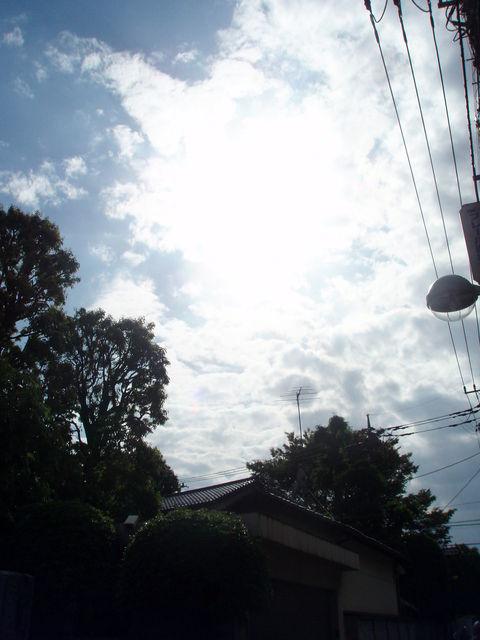 世田谷の空