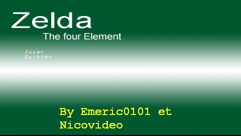 Zelda the fourth element