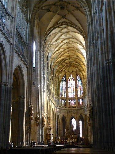 プラハ城の大聖堂2
