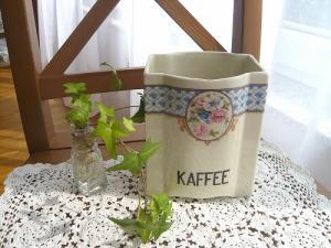 陶器蓋なしキャニ