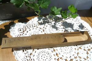 木製ミニ筆箱