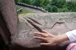 ハイデルベルグ城~見張りの手遊び跡~