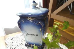 陶器キャニスター「graupen」
