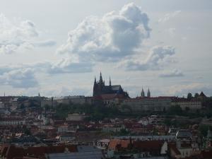 プラハ城遠景