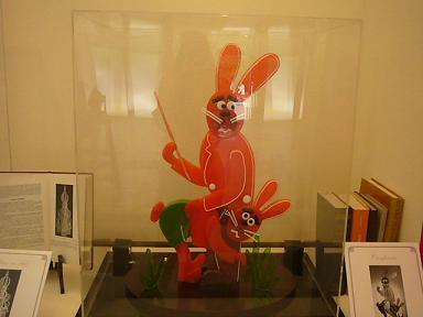 お菓子のウサギ