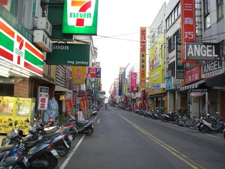 斗六市内の朝