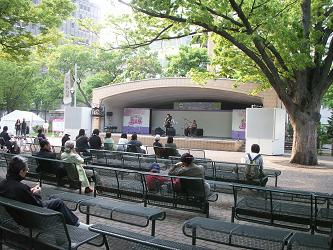 ライラック祭り 札幌 大通り公園