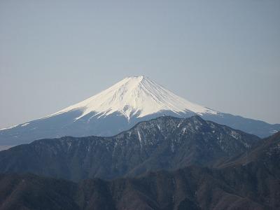 滝子山からの富士山