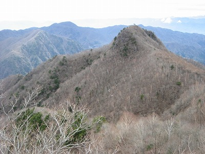 升形山から黒富士