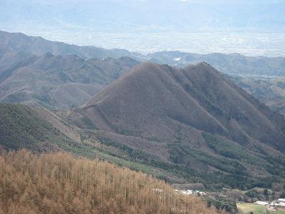 曲岳から太刀岡山