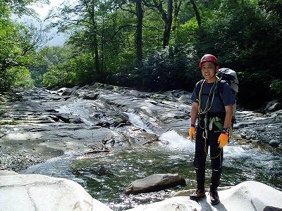 200mナメ滝