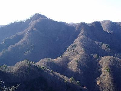 碧岩から二子岩、ククリ岩