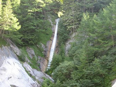 F21白い滝が見えた