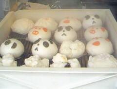 中華街パンダ饅