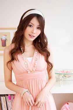 裾レースシフォンワンピ★ピンク